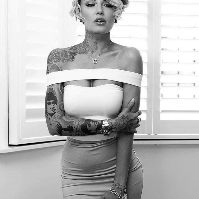 тату модель фото, девушка с татуировками, sexy tattoo ink foto