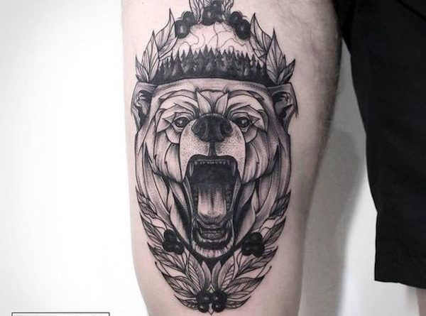 grizzli on tattoo
