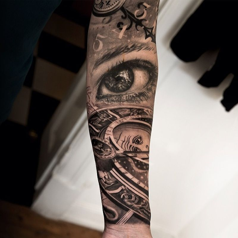 hyperrealistic tattoo