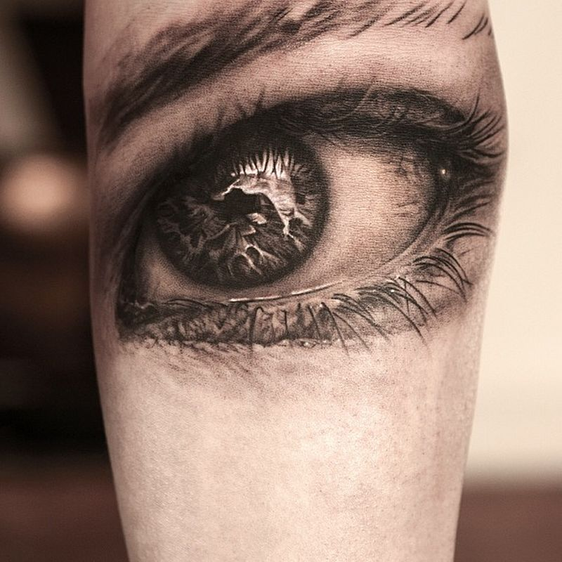 hyperrealistic tattoo img реализм, красивые татуировки фото глаз