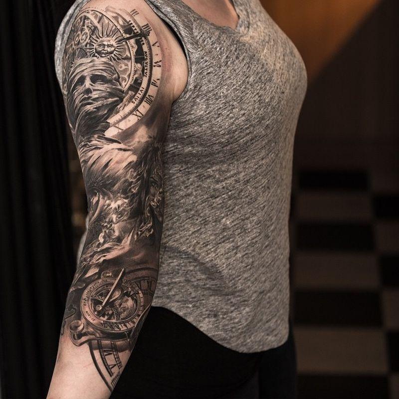 hyperrealistic tattoo img реализм, красивые татуировки фото