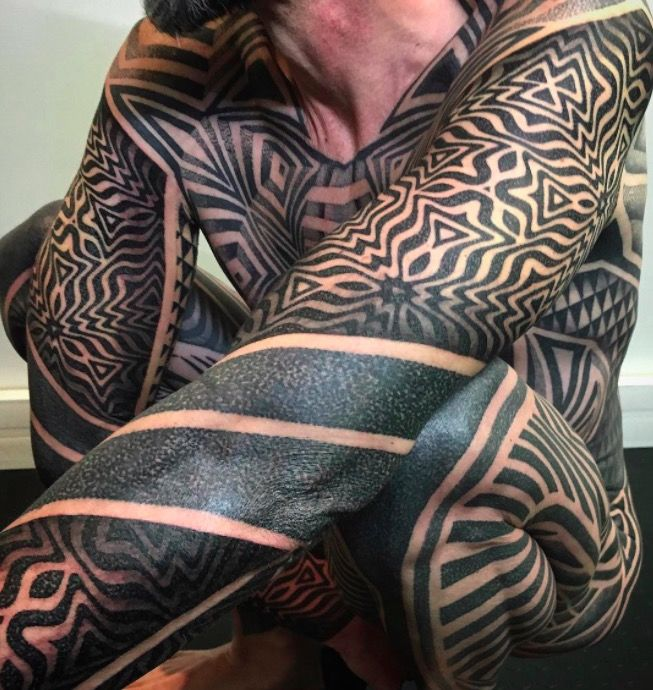 Геометрические тату рукава фото каталог татуировок on-tattoo