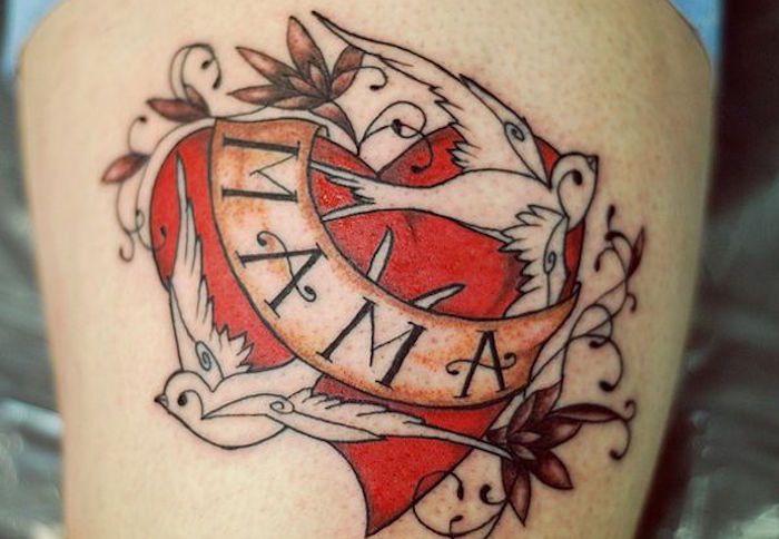 Rasta bird tattoo