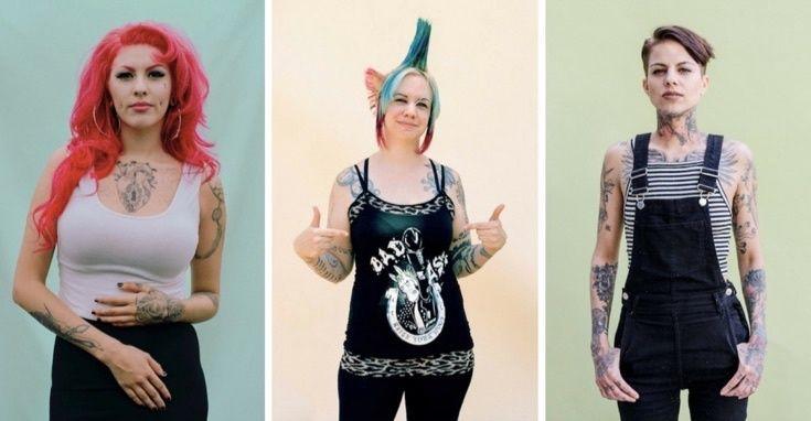 мамы с татуировками фото