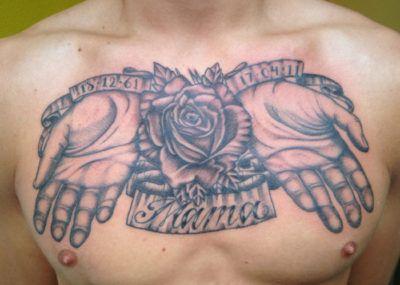 Фото картинки Тату надпись Мама. mom love tattoo