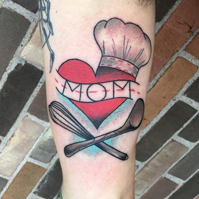 mama tattoo foto