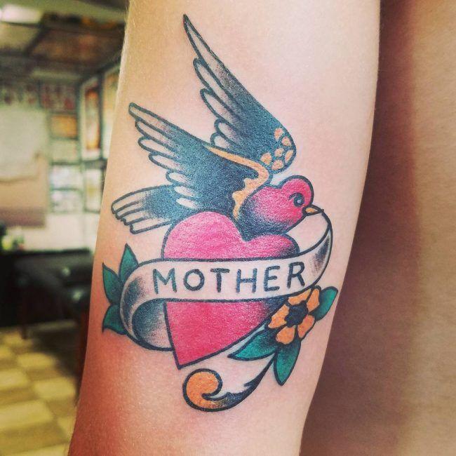 Tattoo фото, каталог тату Мама картинки татуировок с сердцем про любовь