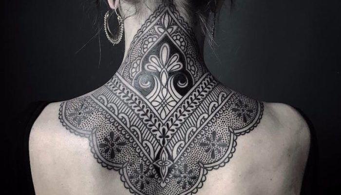 Красивые татуировки с кружевами