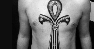 Египетский крест: Анх тату фото и значение