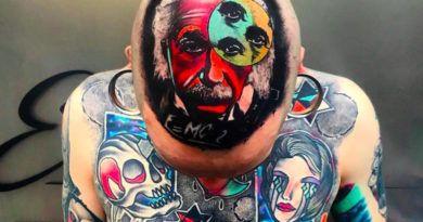 Психоделика и сюр в татуировках Little Andy фото