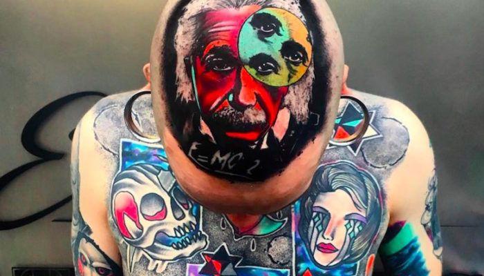 Психоделика и сюр в татуировках Little Andy