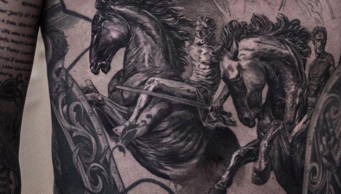 Ники Норберг. Мастер гиперреалистических татуировок