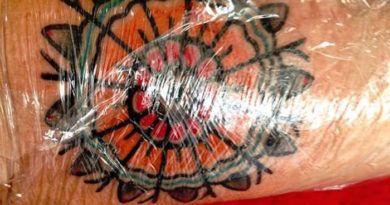 Этапы заживления татуировки фото этапы