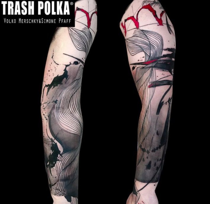 trashpolka on Tattoo foto