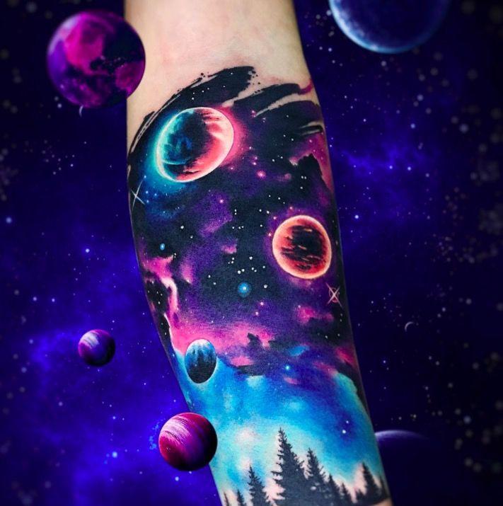 Акварельные татуировки тату-художника Adrian Bascur, фото вау