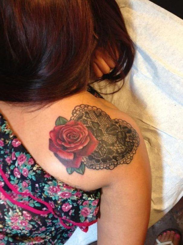 тату кружева для девушек фото каталог татуировок