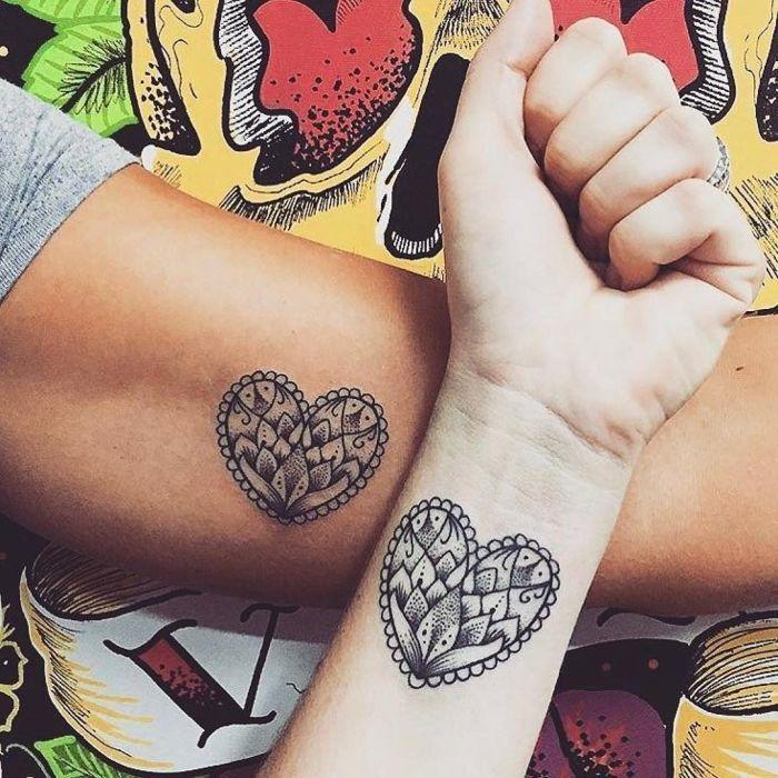 тату кружева для девушек фото каталог татуировок сердечки