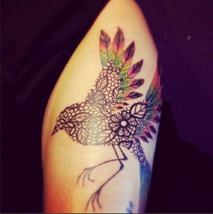 колибри тату кружева для девушек фото каталог татуировок