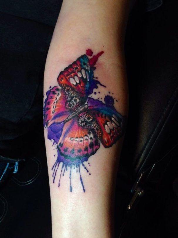 бабочка тату кружева для девушек фото каталог татуировок