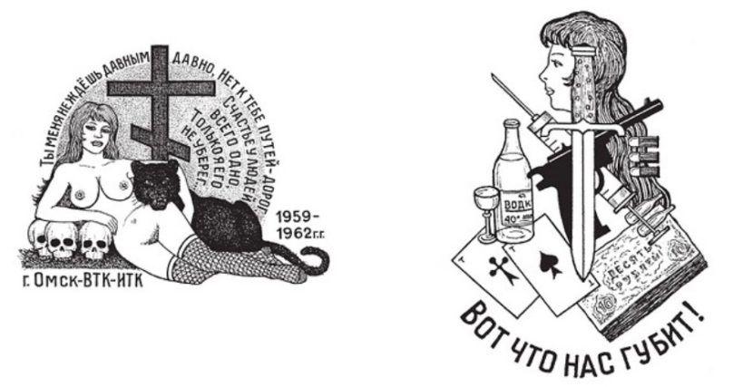 История криминальной татуировки фото