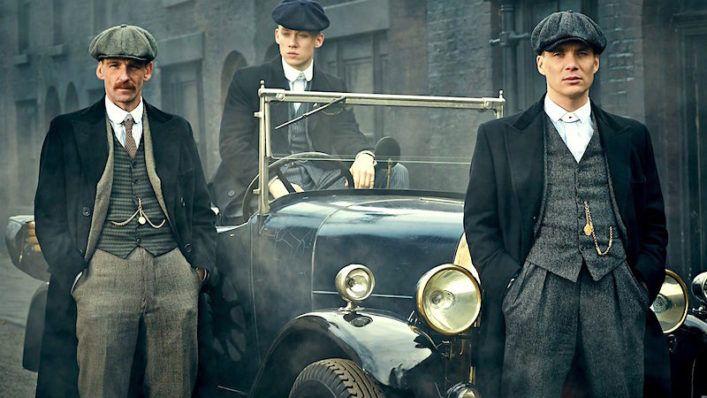 «Острые козырьки» (англ. Peaky blinders) — британская криминальная драма Стивена Найта