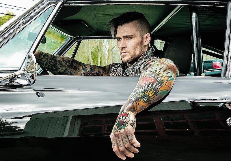 Marshall Perrin on-tattoo