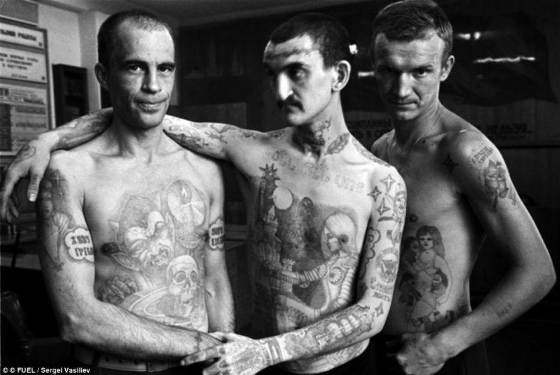 заключенные и их татуировки фото значение
