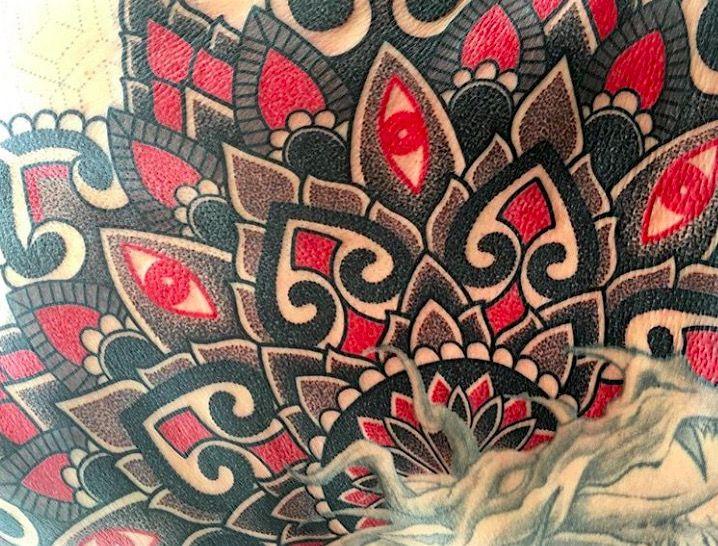 Geometric Tattoo foto on-tattoo.ru фото татухи каталог