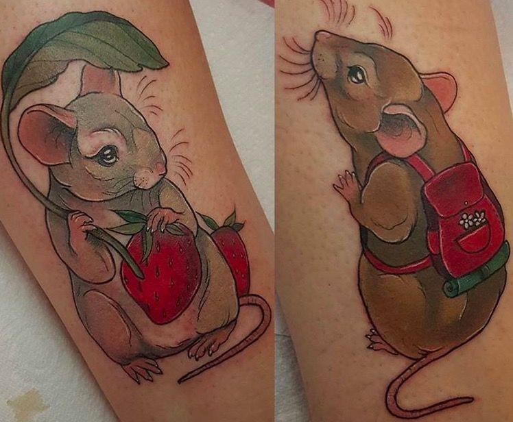тату крыса