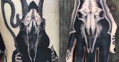 Демонические татуировки Кристофера Джейда
