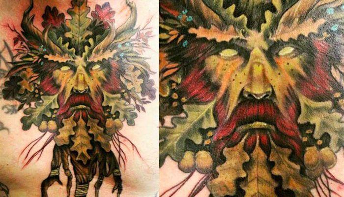 100 ФОТО! Идеи татуировок с дубом