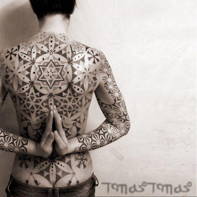 Геометрия в татуировке