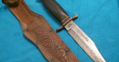 Нож. Мистика и символизм ножей