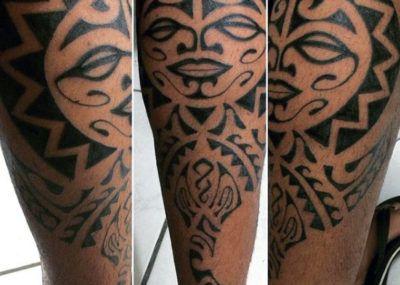 Полинезия Тату на руке