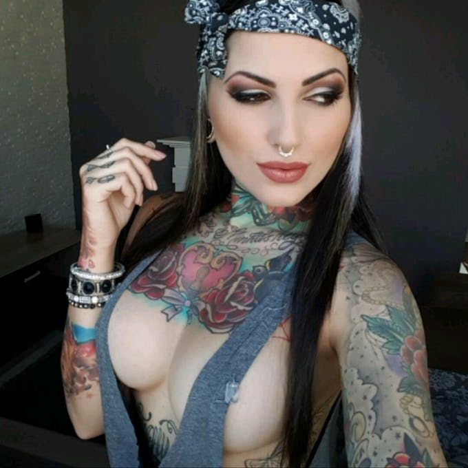 tatu girl foto