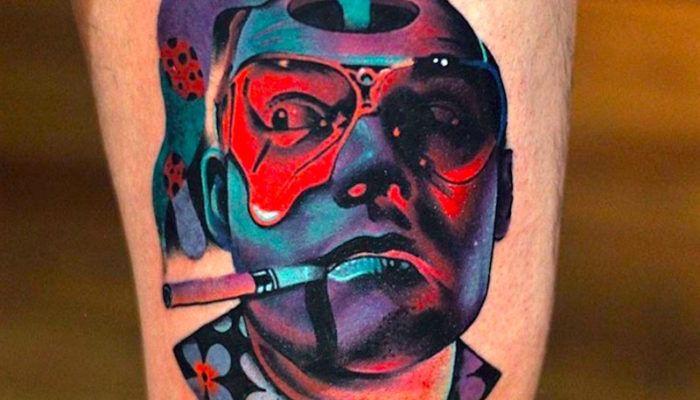 Психоделические татуировки Дэвида Котта (70 фото)
