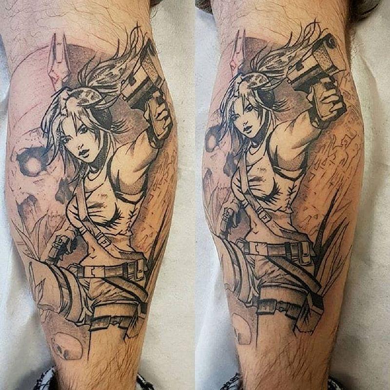 12 татуировок Лары Крофт из игр и фильмов Tomb Raider