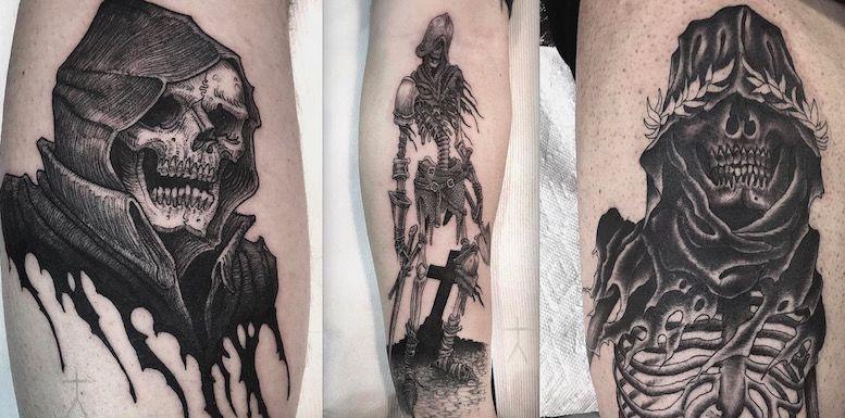 Демонические татуировки