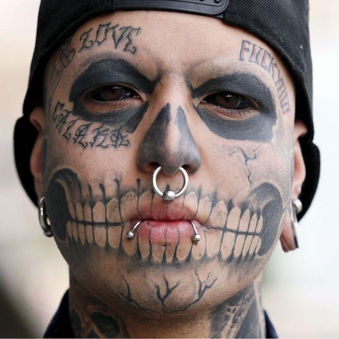 extreme eyeball tattoos foto