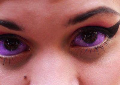 Сиреневый глаз тату фото