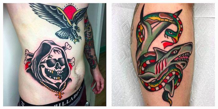 татуировки в традиционном стиле фото