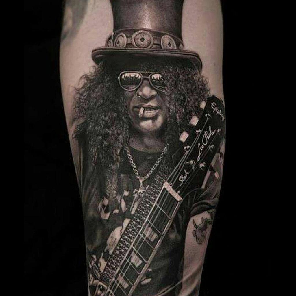 Slash tattoo by Meyer Viktor