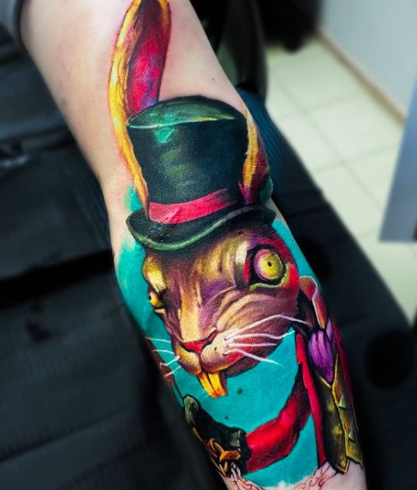 Suvorov tattoo