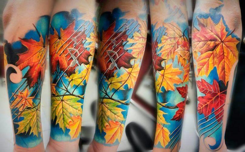 Vasilii Suvorov tattoo