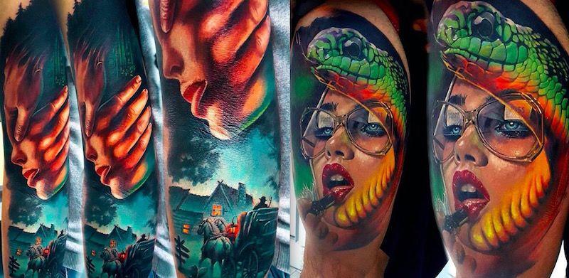 Vasilii Suvorov tattoo foto