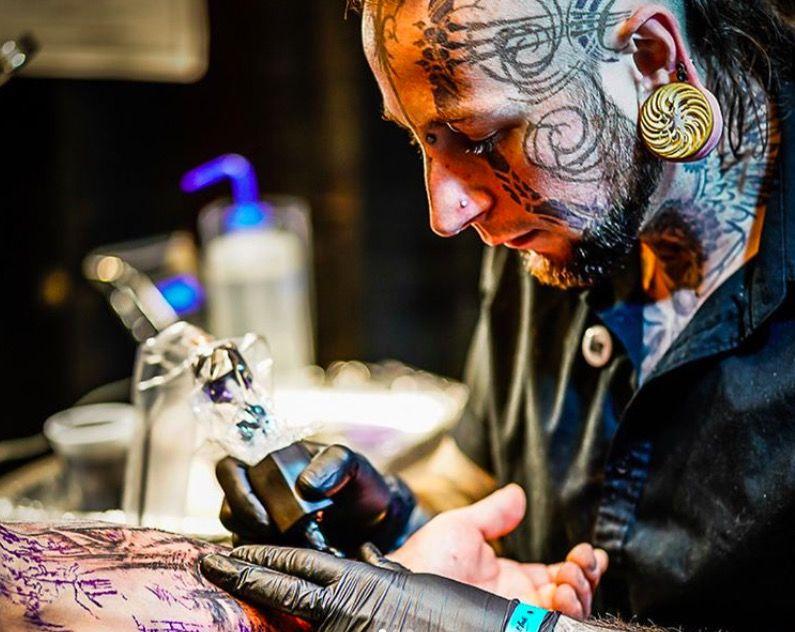 Фото с выставки Motor City Tattoo Expo 2018