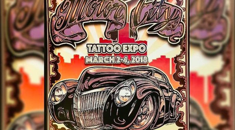 В Детройте прошла выставка Motor City Tattoo Expo 2018