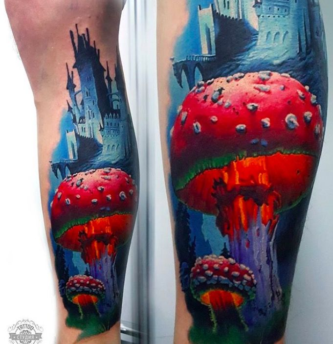 tattoo amanita