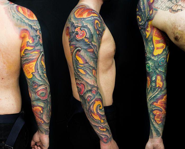 как оригинальный стиль в тату