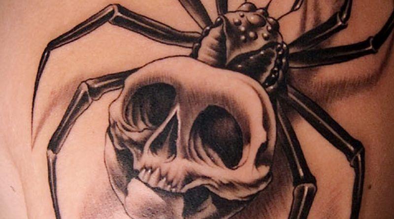 татуировки паука